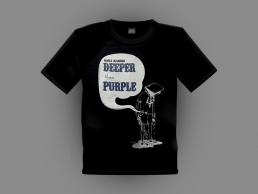 'Deeper Than Purple' Tee