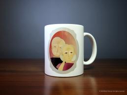 'Portrait' Mug