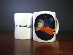 'Woman in Space' Mug
